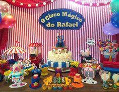 decoração festa circo do bita