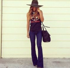 Fashion Tips Clothes .Fashion Tips Clothes Flare Jeans Outfit, Country Outfits, Casual Outfits, Cute Outfits, Fall Country Concert Outfit, Rodeo Outfits, Concert Outfits, Summer Outfits, Look Fashion