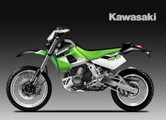 Motosketches: KAWASAKI KLR 700 BAJA