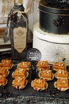 Pen N' Paper Flowers: RECIPE | Whiskey Caramel Glazed Pumpkin Bars