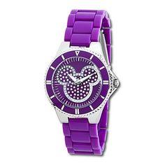 Purple Mickey Watch! Love it