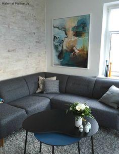maleri over sofa af kunstner pia boe piaboe.dk