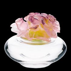 Daum Crystal Roses Box. Biggs Ltd. Gallery 1-800-362-0677. Price $885. Heirloom quality bridal gifts!