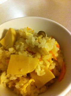 It's the Season for Rice with Bamboo Shoots ☆