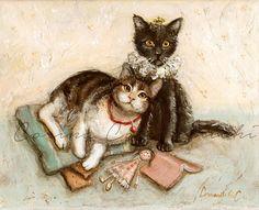 Custom Pet Portrait Painting Pet Lover Gift Cat Portrait