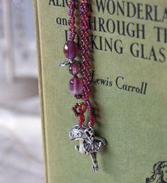 Gorgeous hand beaded bookmark