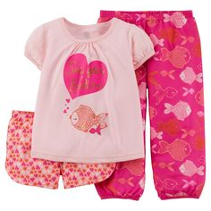 Just One You� Made by Carter's� Toddler Girls' 3-Piece Mix