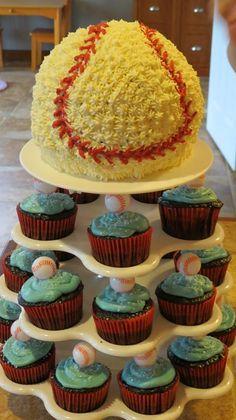 LafayetteCrews Cakes and Dainties Baseball Cake Fancy Cakes