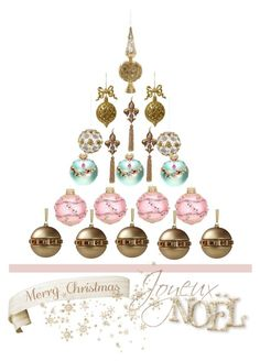 """Xmas Tree"" by evachasioti ❤ liked on Polyvore featuring art, xmas and xmastree"