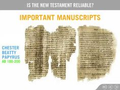 Christian Apologetics: Is the New Testament Reliable? - Doug Powell - YouTube-One of Best Videos