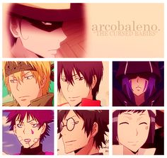 Katekyo Hitman Reborn Arcobaleno I feel bad for people who don't know this masterpiece
