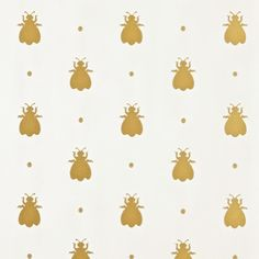 This wallpaper from @farrowandball is the bee's knees!  I love the soft metallic shimmer and can't wait to find a room to use this in.