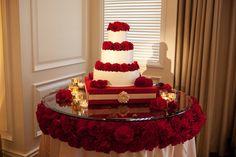15 Stunning Cake Table Ideas via Belle The Magazine