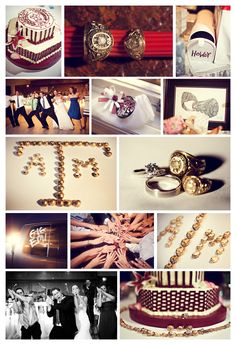 Love This! What are the chances of getting every Aggie at the wedding to use their ring to spell out ATM???