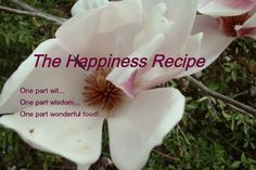 Want to share happiness and have more happiness in your heart? Get in on the ground floor of the new Happiness Recipe book & get some cool perks!