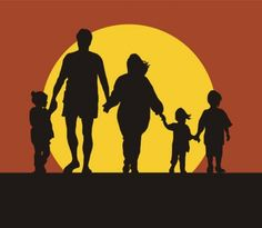 Homeschooling: An Unexpected Journey Silhouette Family, Hand Silhouette, His Hands, Holding Hands, An Unexpected Journey, Family Tattoos, Rich Man, Family First, Simple Pleasures