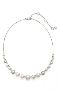 Nadri Nadri Faux Pearl Collar Necklace available at Nordstrom