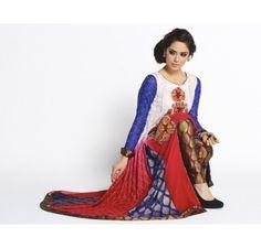 Pakistani Designer Dresses - Lowest Prices - EXCLUSIVE Chiffon Party Dress by Zunaira Lounge £149 - Latest Pakistani Fashion www.iluvdesigner.com