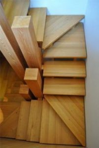 Small Staircase, Attic Staircase, Loft Stairs, Basement Stairs, House Stairs, Staircase Design, Staircase Ideas, Spiral Staircases, Basement Ideas