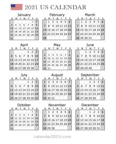 2021 US Portrait Calendar Calendar 2019 Printable, 12 Month Calendar, Monthly Planner Printable, Holiday Calendar, Printable Calendar Template, Kids Calendar, Yearly Calendar, Calendar Design, 2021 Calendar