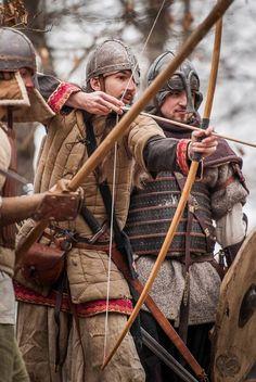 When there is too much bullshit to describe in one photo. Three guys in strange garb? Yep. Vikings? Nope.