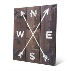Horizon 'Direction Arrows' Metal Wall Art