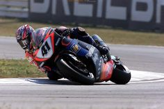 WSB. The greatest rider never to win a championship? 'Nitro' Noriyuki Haga, here riding the Aprilia RSV mille