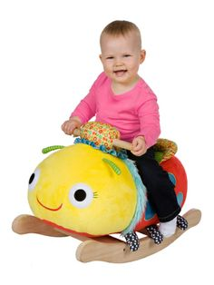 Mix 'N Max Whimsy Bug Rocker by Alex Toys on sale now on Gilt.