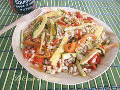 Una fresca e gustosa idea per preparare un primo piatto completo adatto alla stagione calda: Insalata di Cereali con verdure, da preparare in…
