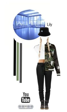 """""""BTS - 방탄소년단 ''MIC DROP'' Dance cover by Lily"""" by lily-jung ❤ liked on Polyvore featuring T By Alexander Wang, adidas, Timberland, David Yurman and Valentino"""