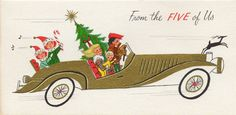 I want to make this vintage card our Christmas card this year!