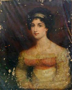 """""""Portrait of a Lady in a Pink Dress"""", c. 1810, by Margaret Sarah Carpenter (British, 1793-1872)."""