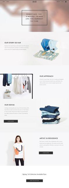 #minimalistic #webdesign #inspiration