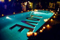 Resultado de imagem para decoração para piscina #decoraciondeboda