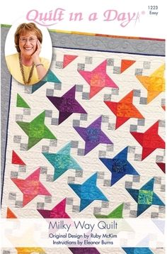 Milky Way Quilt Pattern