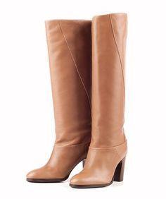 Leren laarzen met hak - Vanilia - Official website and online shop