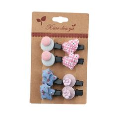 Newly Design Little Girls Hair Pins Hair Clips Accessories 8 piece, NO.2 * Check out this great article. #hairinspiration
