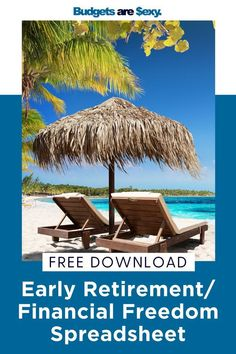 The Early Retirement / Financial Freedom Spreadsheet! - Finance tips, saving money, budgeting planner Early Retirement, Retirement Planning, Financial Planning, Retirement Quotes, Ways To Save Money, Money Saving Tips, Saving Ideas, Savings Planner, Frugal Living Tips