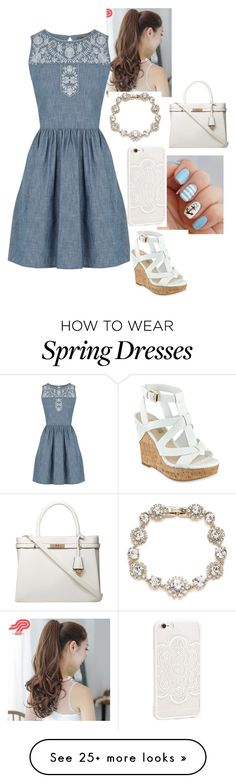"""""""Untitled #171"""" by howard-hornets24 on Polyvore featuring Pin Show, Oasis, Marchesa, GUESS and Dorothy Perkins"""
