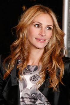 color. julia roberts is reportedly a dark blonde naturally - who knew?!