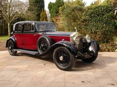 1930 ROLLS ROYCE PHANTOM II Park Ward Sports Saloon