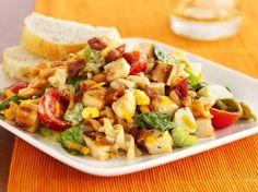 Grilled Honey Mustard Chicken Salad