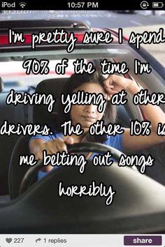 How I drive