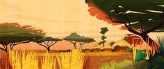 Villaggio e savana Painting, Art, Art Background, Painting Art, Kunst, Paintings, Performing Arts, Painted Canvas, Drawings