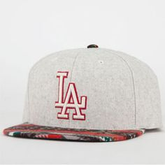 American Needle Spice Dodgers Mens Strapback Hat