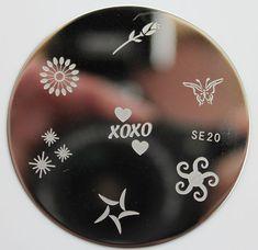 Salon Express Nail Art Stamping Plate SE20 $1