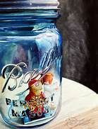 watercolor paintings ball jar - Bing Images