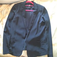 H&M blazer Great condition preppy schoolboy blazer. I'm in the photo for reference of how it fits H&M Jackets & Coats Blazers