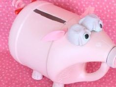 Pig Valentine Box Idea. So Cute!