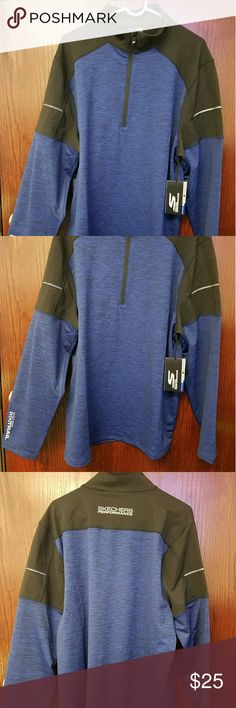 Skechers Performance Long Sleeve Jacket (NWT) The SKECHERS Apparel - Adventure Quarter Zip Sweat Shirt. Nylon, Poly and Spandex blend fabric in a performance fitted quarter zip sweat shirt design with Active Stretch fabric for all day comfort. Construction 46% Nylon 42% Polyester 12% Spandex Single Jersey Heather Knit blend fabric 88% Nylon 12% Spandex Single Jersey Knit Made with Active Stretch fabric for maximum range of motion Moisture management fabric wicks moisture away from the skin…